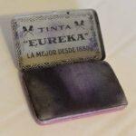 Almohadillas de tinta para sellos. Ferrocarril Trasandino / Stamp ink pads. Trasandino Railway