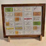 Colección de boletos de cartón tipo Edmonson / Edmonson Type Cardboard Ticket Collection