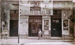 Fachada Cine Coliseo, 1926
