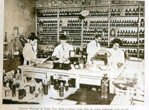 Farmacia Municipal, 1940