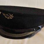 Gorra de jefe de estación. Ferrocarril Trasandino / Stationmaster hat. Trasandino Railway