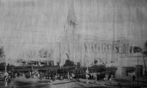 Inauguración Iglesia San Vicente Ferrer, 1912