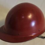 Casco de seguridad. Ferrocarril Trasandino / Safety helmet. Trasandino Railway