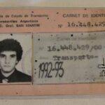 Carnet de identidad. Perteneció al Sr. Daniel Alejandro Vanella, empleado ferroviario / Identity card. It belonged to Mr. Daniel Alejandro Vanella, a railway employee