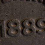 Tapa de grasera de boguie. Ferrocarril Trasandino. Fecha de construcción 1889 / Boguie grease fitting Cap. Trasandino Railway. Construction date 1889