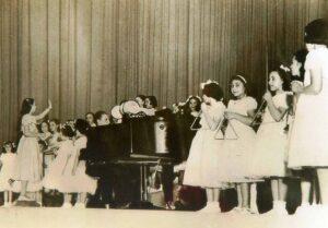 Recital Conservatorio Resta en Cine Plaza, 1947