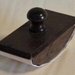 Secante de tinta de madera. Ferrocarril Trasandino / Wood ink blotter. Trasandino Railway