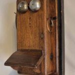Teléfono de oficina. Ferrocarril Trasandino / Office phone. Trasandino Railway