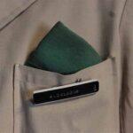 Uniforme antiguo de guarda. Perteneció al Sr. Ángel Zalazar. Ferrocarril Trasandino / Antique Guard Uniform. It belonged to Mr. Ángel Zalazar. Trasandino Railway