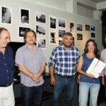 De izquierda a derecha, Ernesto Segura, Marcelo Nardechia, Diego Gareca, Florencia Cialone y Humberto Mingorance