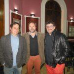 Arquitectos Daniel Púrpura, Marcelo Nardechia y Sergio Morón