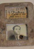 Carnet de abono o pase, año 1966. Perteneció al Sr. Julio Gómez / Railway card or pass, year 1966. It belonged to Mr. Julio Gómez